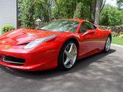 2011 Ferrari 458Base Coupe 2-Door